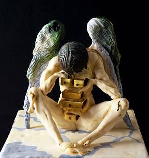 Dante Internacional Contest - Cake by Cholys Guillen Requena