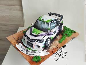 Race car - Cake by Tanya Shengarova