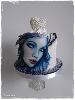 Hand painted Tarja - Cake by Zuzana Kmecova