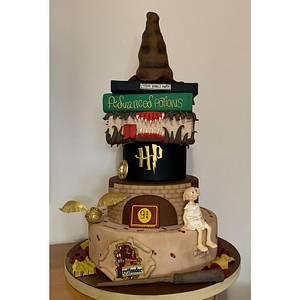 Harry Potter Cake  - Cake by Tania Chiaramonte
