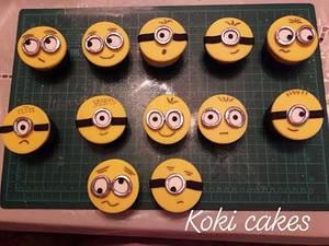 Minion cupcakes - Cake by Noha Sami