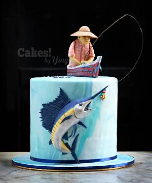 Fisherman's dream catch - Cake by Cakes! by Ying