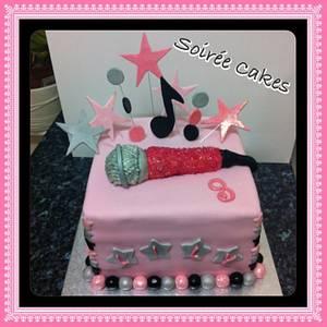 Microphone Cake - Cake by Sharon Patel