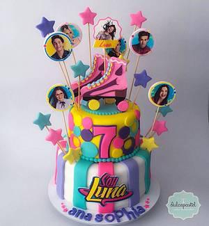 Torta Soy Luna Medellín - Cake by Dulcepastel.com