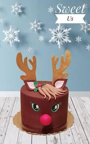 Rudolph cake  - Cake by Gabriela Doroghy