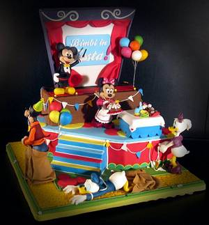 Bimbi in festa - Cake by MG SugarCake