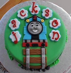 Thomas the Train - Cake by Mary