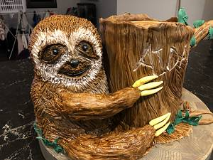 Just Slothing around - Cake by Cakesters