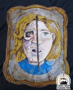 Sophia..Then and Now - Cake by Jean A. Schapowal
