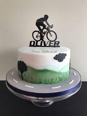 Bike cake - Cake by Penny Sue