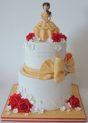 Princess Belle - Cake by Shereen