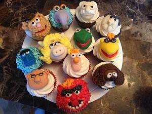 Muppets Cupcakes - Cake by Tiffany Austin