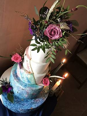 Hand painted twilight cake - Cake by CCC194
