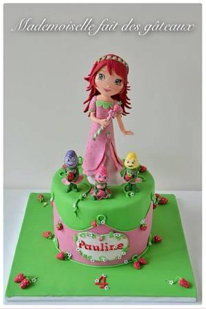 Charlotte aux fraises!  -  Strawberry Shortcake! - Cake by Mademoiselle fait des gâteaux