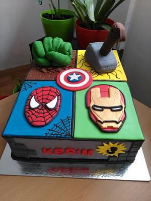 Avengers cake - Cake by Slatkaradionica-Amra