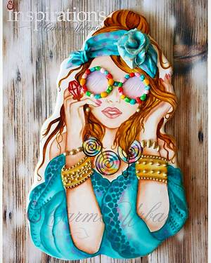 JELLY BEAN GLASSES - Cake by Inspiration by Carmen Urbano