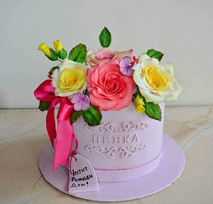 Flower box cake - Cake by TortIva