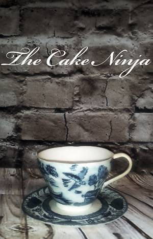 Sugar cup & saucer - Cake by Tiddy