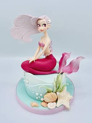 Alyssa Mermaid - Cake by Romina Novellino