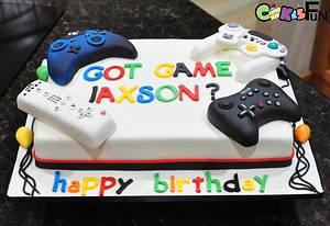 Gamer's Cake - Cake by Cakes For Fun