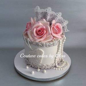 Cake ,,for her,, - Cake by Couture cakes by Olga