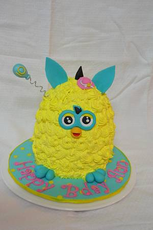 Furby cake - Cake by Sheela