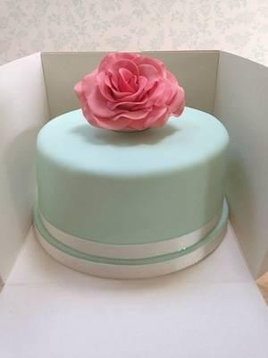Memorial Rose - Cake by sweet-bakes.co.uk