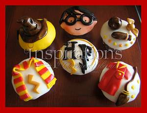 Harry Potter cupcakes - Cake by Inspiration by Carmen Urbano