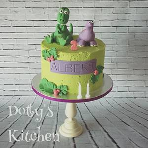 Dinosaur Roar - Cake by dottyskitchen