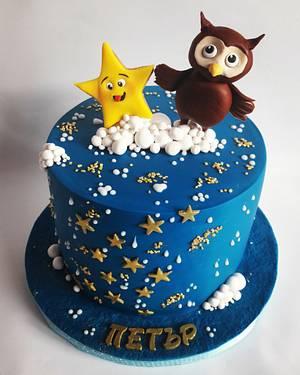 Twinkle twinkle little star  - Cake by Mariya Gechekova