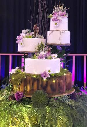Cake Bark Tier - Cake by MsTreatz