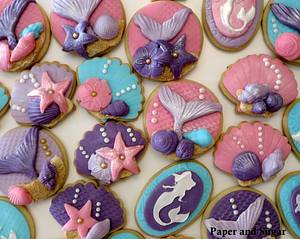 Mermaid Cookies - Cake by Dina - Paper and Sugar