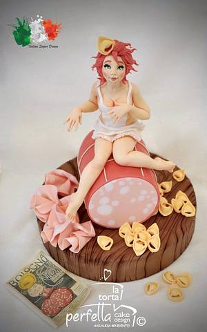 """Bologna """"the fat"""" - Italian Sugar Dream - Cake by La torta perfetta"""
