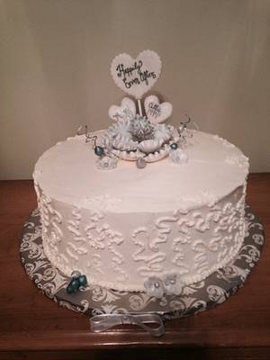 Happily Ever After - Cake by Kathryn