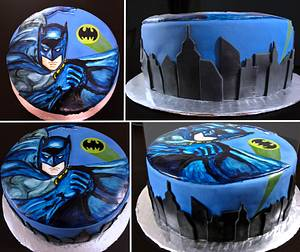 Batman Cake - Cake by Jamie Cupcakes