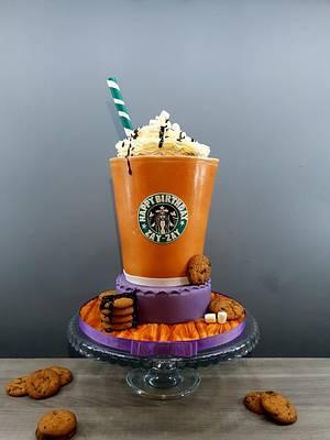 Starbucks  - Cake by Radoslava Kirilova (Radiki's Cakes)