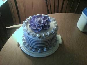 Pretty in Purple - Cake by Flippy Cakes