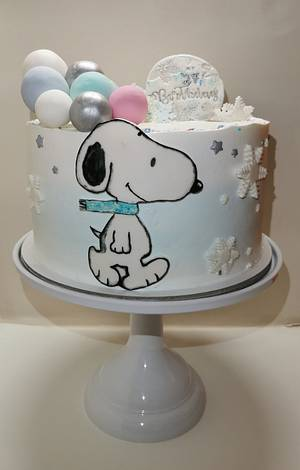 Snoopy Cake  - Cake by Tania Chiaramonte