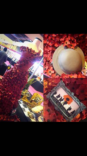 Remeberance cake for cake international  - Cake by Witty Cakes