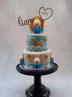 Lief Konijnen taartje/Miffy birthday cake - Cake by Janny Bakker