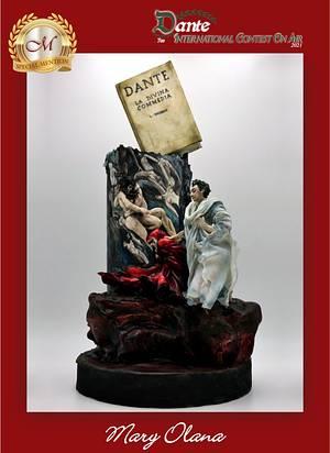 Paolo e Francesca Canto V - Cake by Olana Mary