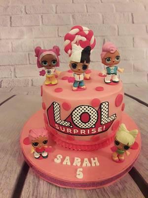 Lol surprise dolls cake - Cake by Noha Sami