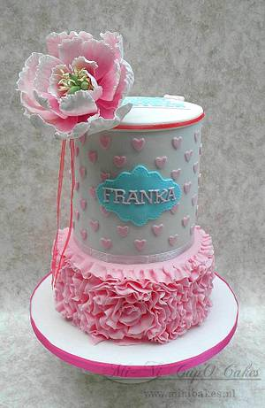 """Franka"" - Cake by Noni Wardani"