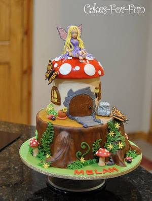 Fairy Cake - Cake by Cakes For Fun