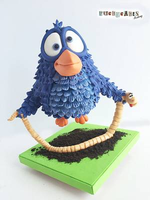 """""""For the Worm"""" Cake - Cake by Puckycakes"""