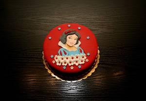 Snow white  - Cake by Rozy