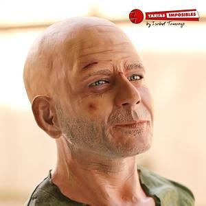 Bruce Willis - Cake by Tartas Imposibles