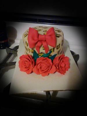 Sassy girl cake - Cake by Jennifer