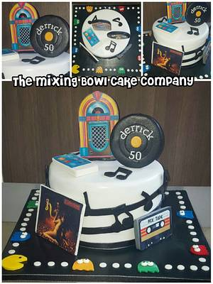 music through the ages!  - Cake by The Mixing Bowl Cake Company