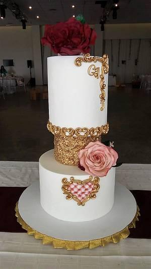TORTA DE BODA (WEDDINGCAKE) - Cake by SONIA PORCÚ